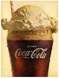 Coke float.