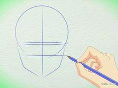 Imagem intitulada Draw Manga Faces in Basic Sketching Step 4