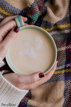 How to make Chai tea from scratch | Chai tea latte recipe | Chai mix Recipes | Chai recipe | Easy Chai tea recipe | Chai Concentrate | Hands wrapped around mug of chai |