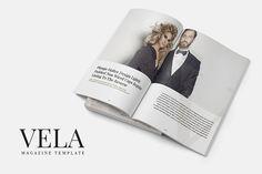 Vela Magazine Template by SlideStation on @creativemarket