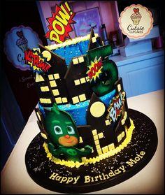 PJ Mask Cake by Cutsie Cupcakes