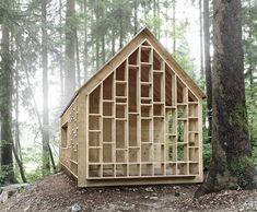 stunning minimalist cabin