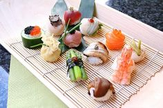 Picture of Sushi of Shiori in Camden, London Asparagus, Sushi, Buffet, Camden London, Eat, Moscow, Ethnic Recipes, Restaurants, Food