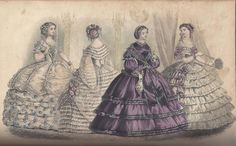 September 1860 Dressed for a Party