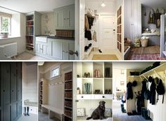 Problem Area 1 - Covered Porch / Hall / Boot Room / Cloakroom - click on photo for interior tips and inspiration