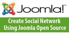 Create social network using joomla open source............ SparxITSolutions
