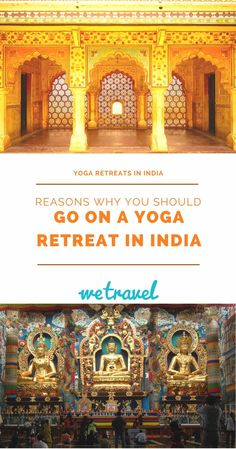 Yoga Retreats in India -- As the birthplace of yoga, India offers countless retreat opportunities and training programs in every corner of this soul-stirring country.   WeTravel