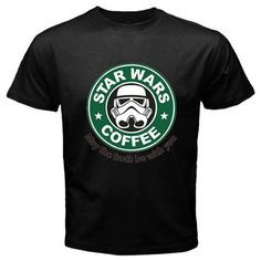 Funny T-Shirts (Star Wars Coffee) Great Gift Ideas for Adults Men Boys Youth and…