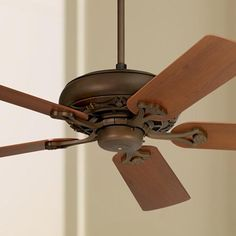 Monte carlo great lodge magnum 66 ceiling fan finish weathered 52 casa vieja trilogy bronze ceiling fan aloadofball Image collections