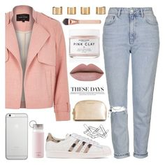 """deep deep down,, you have feelings for me..."" by sweet-jolly-looks ❤ liked on Polyvore featuring River Island, Topshop, adidas Originals, Herbivore Botanicals, Native Union, Kate Spade, MICHAEL Michael Kors, Maison Margiela, Home Decorators Collection and SimpleOutfits"