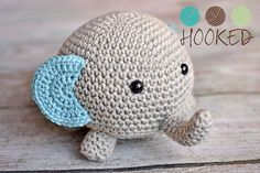 Amigurumi Elephant Pattern : Free amigurumi elephant crochet pattern and tutorial amigurumi