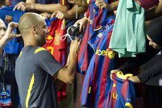 El Barça causa sensación en el entrenamiento en Washington