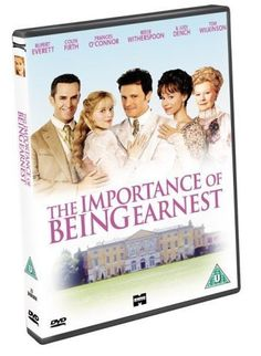 The Importance of Being Earnest ... such great lines to memorize and use throughout every day life!