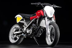 Husqvarna Moab Scrambler concept. A re-invent of the 1970 400 Cross Steve McQueen made famous.