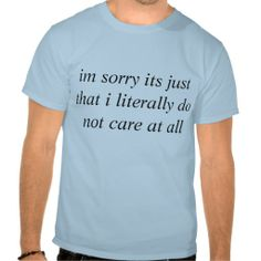 Don't Care At All Shirt