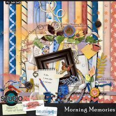 Morning Memories { Page Kit }  #thestudio
