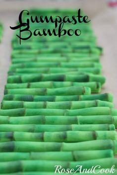 A panda & bamboo party
