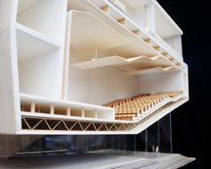 Cinema Architecture, Water Architecture, Architecture Concept Drawings, Architecture Student, Architecture Details, Cultural Architecture, Theatre Section, Halle, Parque Linear
