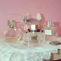 New corner in my bedroom.. #parfums #dior #gucci #lancome #chanel #follow #like