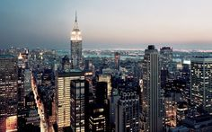 New York View Manhattan Empire State Building
