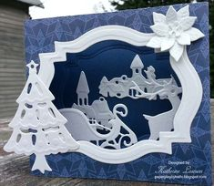 Creatables Diorama Card by kathi17 - Cards and Paper Crafts at Splitcoaststampers