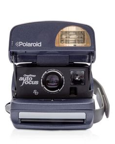 Impossible Polaroid 600 Round Camera | Plastic | Imported | Ideal choice for beginners to analog instant photography | 600-type camera with an updated rounded body introduced from 1998 onwards | Autom