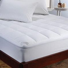Brookstone Climasure Performance Mattress Pad, King, White