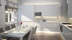 Limente Kuura on tyylikäs valaisin keittiöihin. Kaapistojen alle asennettavalla LED-profiililla saat tasaisen valon työtasolle.