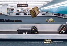 Yoda at the airport
