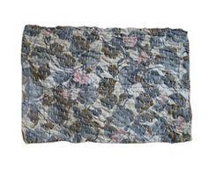 A Sashiko Stitched Zokin: Floral Cotton
