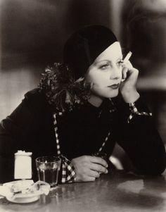 "classyhollwood: "" Greta Garbo in the German version of Anna Christie (1931) """
