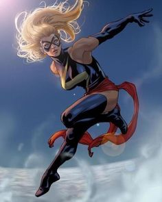 Classic Ms. Marvel. I hope we get this costume in the film for at least a few minutes before they go full Captain on us. #marvelcomics #Comics #marvel #comicbooks #avengers #captainamericacivilwar #xmen #xmenapocalypse #captainamerica #ironman #thor #hulk #hawkeye #blackwidow #spiderman #vision #scarletwitch #civilwar #spiderman #infinitygauntlet #blackpanther #guardiansofthegalaxy #deadpool #wolverine #daredevil #drstrange #infinitywar #thanos #magneto #cyclops http://ift.tt/2aH9N9D