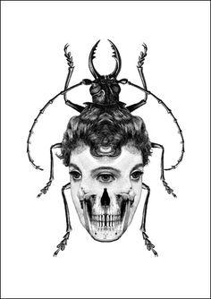 Monochrome Mashups: Hillier, Ernst and Mad Meg | The Endless Swarm