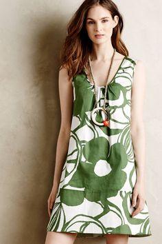 Verdant Garden Mini Dress by WHIT Two #anthrofave
