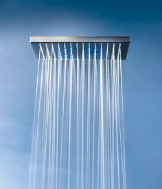 The feel of rain falling during your shower