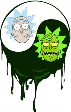 Rick and Morty Rick And Morty Drawing, Rick And Morty Tattoo, Tatuaje Rick And Morty, Rick I Morty, Ricky And Morty, Rick And Morty Poster, Nerd, Adult Cartoons, Animation