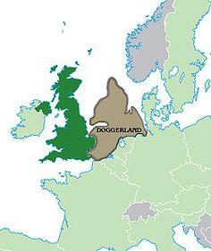 Hubo un tiempo cuando podías viajar del Reino Unido a Europa a pie en una gran área de tierra seca conocida como Doggerland que se extendía desde Escocia hasta Dinamarca.