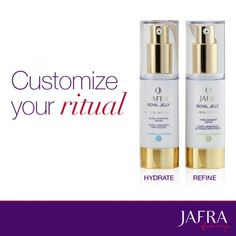 Mix and match serums to suit your skin's needs. http://jafra.me/33v7