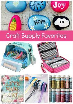 Craft Supply Favorites - Crafty Awesomeness! EverythingEtsy.com