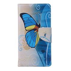 Wallet Case For Huawei Y5 Y560/ Y5 II Flip Cover Pouch Printing Pu Leather+Soft Tpu Phone Bag Case For Huawei Y5 4.5/ Y5II 5.0