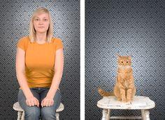 Pet Portraits by Stacey Ernst, via Behance