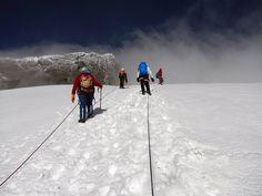 Summiting Mount #Speke in the Ruwenzori Mountains