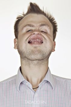 A Hilarious Disturbing Video of People Being Blasted in the Face with Wind by Tadao Cern - 002
