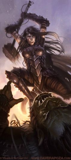 female goliath d&d art - Google Search