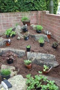 How to create a backyard rockery