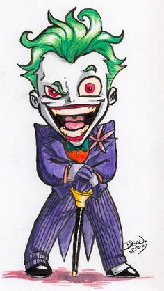 Image detail for -Chibi-Joker 2. by ~hedbonstudios on deviantART