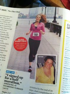 Jen Small and Jen Roe are in the Oct. 2012 issue of Health Magazine! Pick it up and check it out. Running Buddies, Lose 100 Pounds, Relay Races, Small Changes, Ragnar, Health Magazine, Finish Line, Weight Loss Journey, Documentary