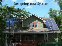 Designing Your Solar Electric System @ Common Sense Homesteading. This could work on a dog trot home for off grid living. Solar Electric System, Diy Generator, Energy Projects, Diy Projects, Solar Installation, Renewable Energy, Solar Energy, Solar Power, Alternative Energy