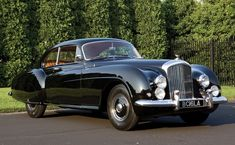1953 Bentley Continental R-Type Fastback Sports Saloon by H.J. Mulliner