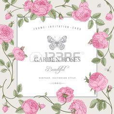 http://us.123rf.com/450wm/olgakorneeva/olgakorneeva1401/olgakorneeva140100623/25022617-vintage-card-with-beautiful-pink-garden-roses-on-a-gray-background.jpg